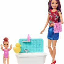 Barbie Babysitters Inc Playset with Bathtub