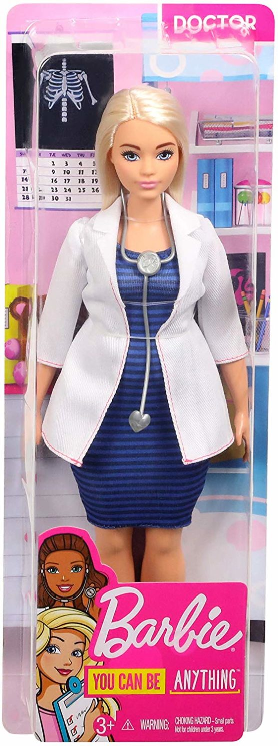 Barbie Doctor Doll with Stethoscope