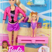 Barbie Gymnastics Coach Dolls and Playset – HAT