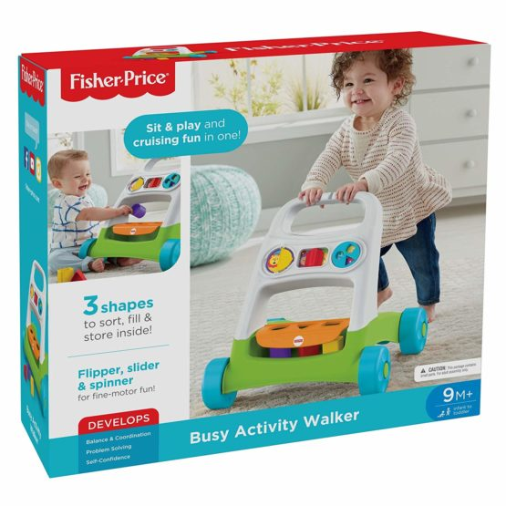 Fisher Price Busy Activity Walker - HAT