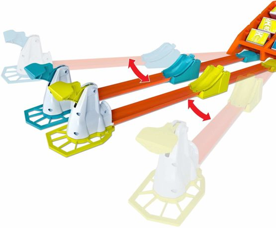 Hot Wheels Action Play Set for 1 or 2 Players Multiple Ways to Score