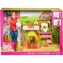 Barbie Sweet Orchard Farm Doll and Barn Playset