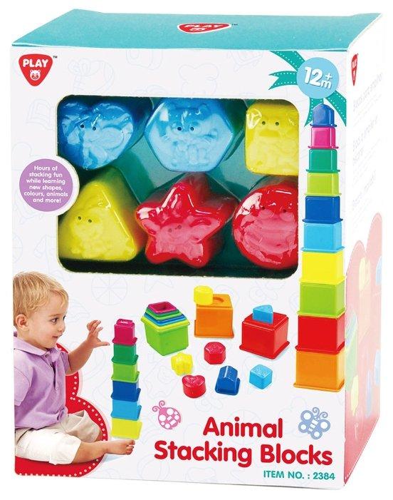 Playgo Animal Stacking Blocks
