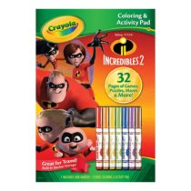 Crayola Coloring & Activity Pad with Markers Incredibles 2