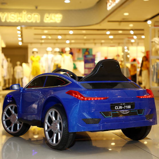 Electric Rechargeable Ride on Car for Kids with 2 Batteries