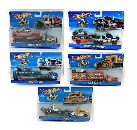 Hot Wheels Super Rig Car Set - 5