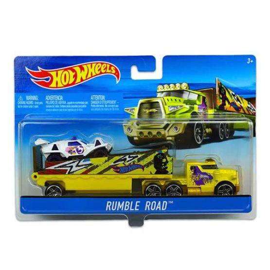 Hot Wheels Super Rig Car Set - 4