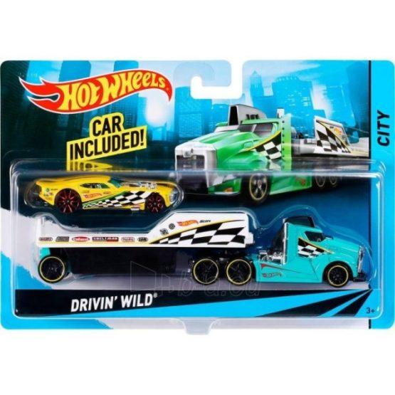 Hot Wheels Super Rig Car Set - 3