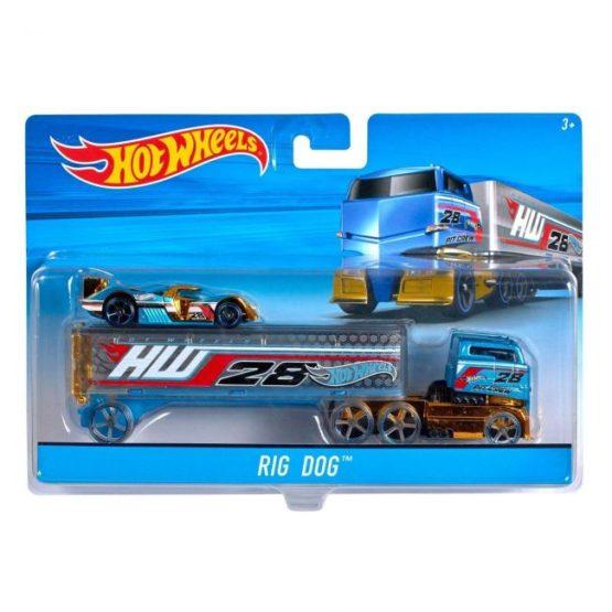 Hot Wheels Super Rig Car Set - 2