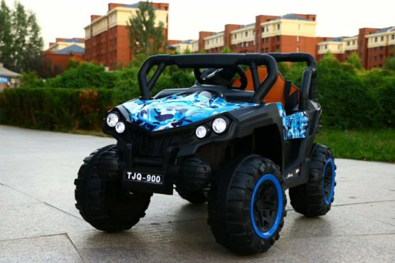 Electric Rechargeable Off Road Jeep for Kids with 2 Batteries