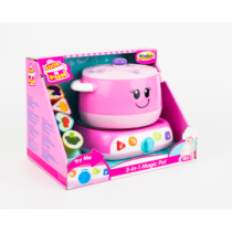 WinFun Educational Magic Pink Pot with Light & Phrases in English Melodies