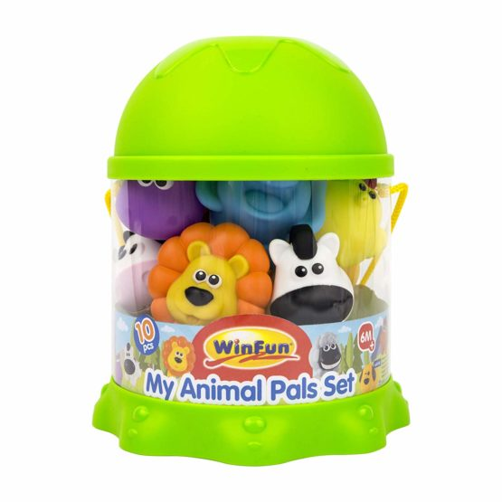 Winfun 10 Piece My Animals Bath Playset