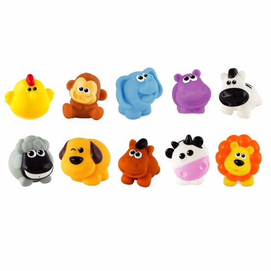 10 Piece My Animals Bath Winfun Playset - 1