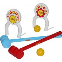 Polisie Croquet Playset, 6 pieces