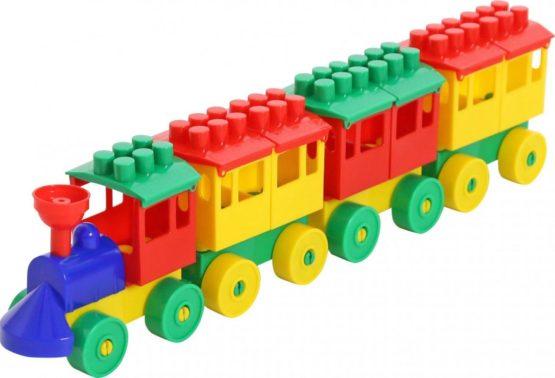 Polisie Locomotive with One Trailer