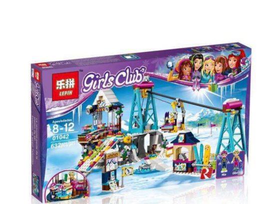 LEPIN Girls Club Snow Resort Ski Lift