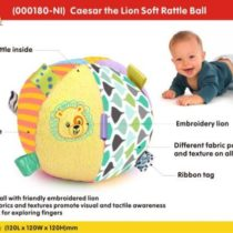 Winfun Ceaser The Lion Soft Rattle Ball