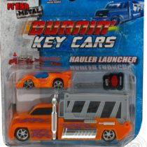 Maisto Burnin Key Cars Hauler Launcher Truck – Color May Vary