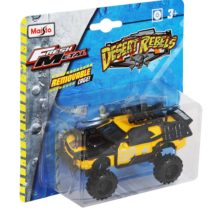 Maisto 4.5″ Desert Rebels Car – Color May Vary