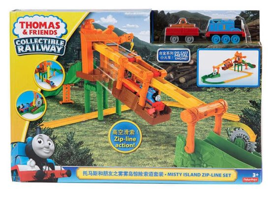 Thomas and Friends Collectible Misty Island Zipline Train - 1