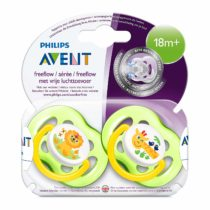 Philips Avent 2 Free Flow Neutral Soother 18M+