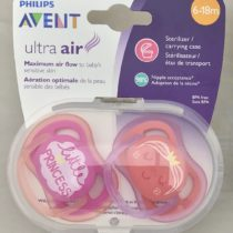 Philips Avent 2 Sensitive Skin Large Air Holes Soother 6-18M+