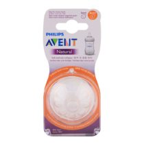 Philips Avent Pack of 2 Natural II Teat 6m+ Thick Feed