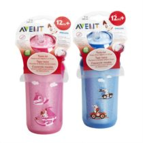 Philips Avent Insulated Straw Cups 260ml 12m+ – Color May Vary