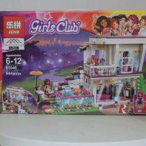 LEPIN Girls Club Livi's Pop Star House Building Blocks Set