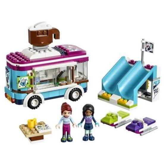 LEPIN Girls Club Snow Resort Hot Chocolate Van Building Blocks Set
