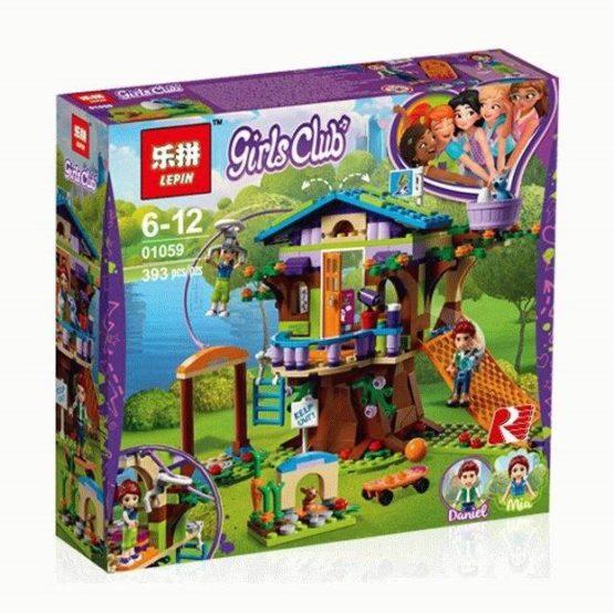 LEPIN Girls Mia's Tree House Building Blocks