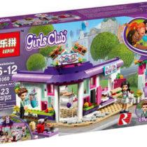 LEPIN Girls Club Emma's Art Cafe Building Blocks Set