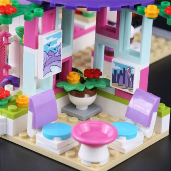 LEPIN Girls Club Emma's Art Cafe Building Blocks Set