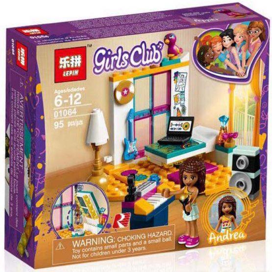 LEPIN Girls Club Andrea's Room Building Blocks Set
