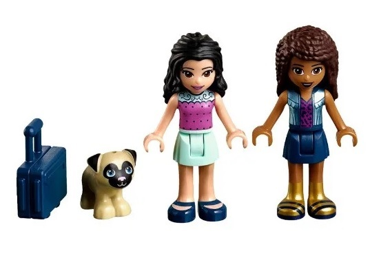 LEPIN Girls Club Friendship Box Building Blocks Set