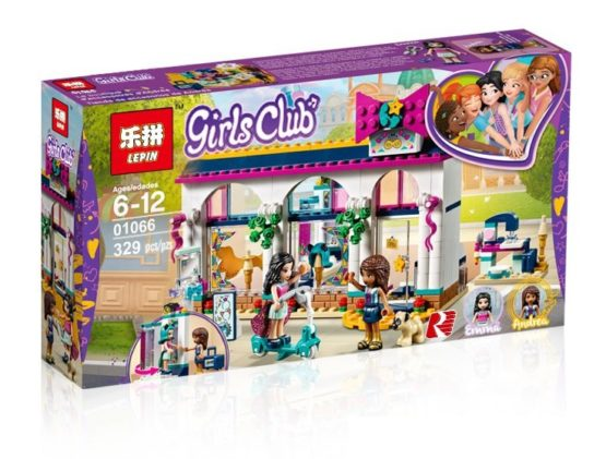 LEPIN Girls Club Andrea's Accessories Store Building Blocks Set