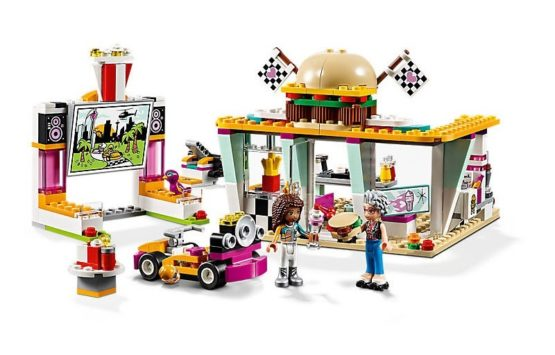 LEPIN Girls Big Race Building Blocks