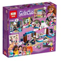 LEPIN Girls Club Olivia's CupCake Cafe Building Blocks Set