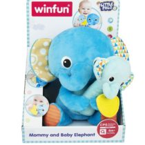 Winfun Little Pals Mommy and Baby Elephant