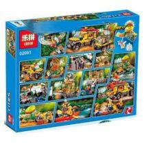 LEPIN City Jungle Exploration Building Blocks Set