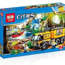 LEPIN City Jungle Mobile Laboratory Building Blocks Set
