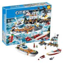 LEPIN City Police Coast Guard Building Blocks Set