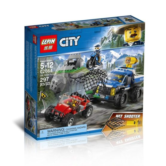 LEPIN City Series The Dirt Road Pursuit