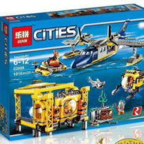 LEPIN City Deep Sea Exploration Operation Base Set