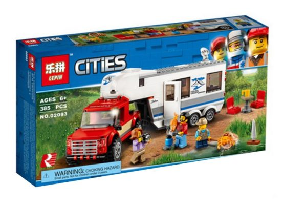 LEPIN City Pickup And Caravan Wagon