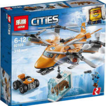 LEPIN City Series Arctic Air Transport