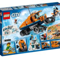 LEPIN City Series Arctic Scout Truck