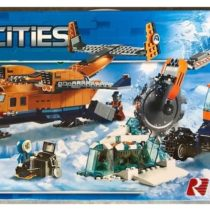 LEPIN City Arctic Supply Plane Mainan Anak Building Blocks Set