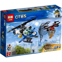 LEPIN City Air Police Chasing Drones Building Blocks Set