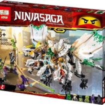 LEPIN Ninjago The Ultra Dragon Building Blocks Set